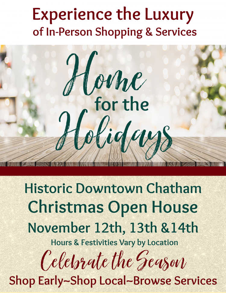 Home for the Holidays – Christmas Open House