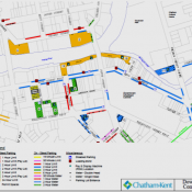 Property: Downtown Chatham Parking Map