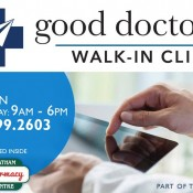 Property: Walk-in clinic is open  at Chatham Centre Guardian Pharmacy