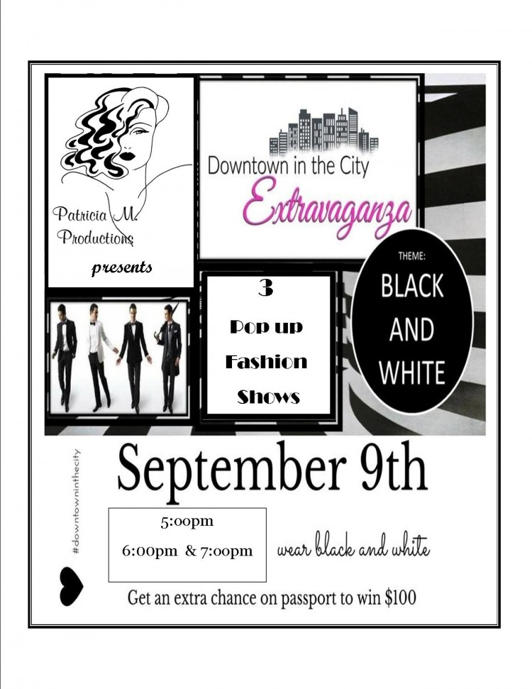 Pop-Up Fashion Shows at DTIC ~ Extravaganza