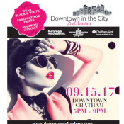 Property: 2nd Annual Downtown in the City Event Poster