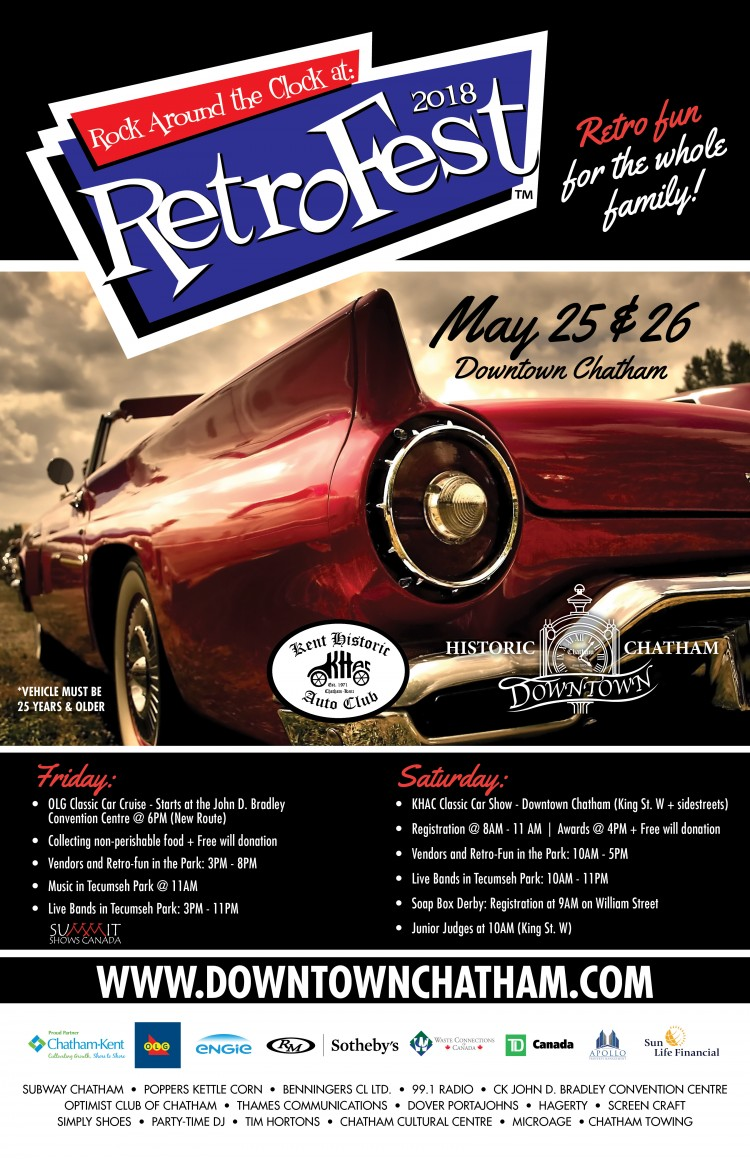 RetroFest™ 2018 and the KHAC Classic Car Show