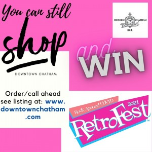 Downtown Contest during the weeks of: Week 2: June 14-18 2nd prize @ Downtown Chatham