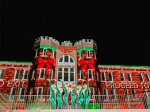 The Chatham Armoury in Lights Christmas 2021 @ The Chatham Armoury