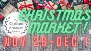 The Chatham Armoury Christmas Market @ The Chatham Armoury