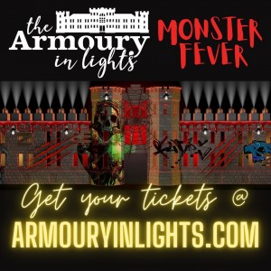 The Armoury In Lights Halloween 2021 @ The Chatham Armoury