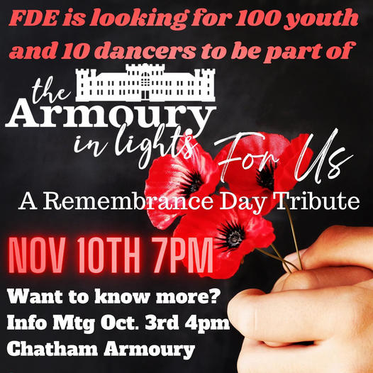 The Chatham Armoury Remembrance Day 2021